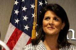 U.N. Ambassador Nikki Haley